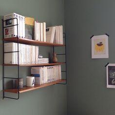 Vintage mid-century String shelves/shelving