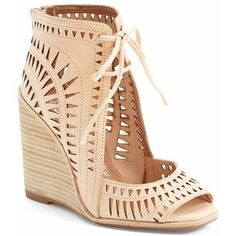 "Jeffrey Campbell 'Rodillo-Hi' Wedge Sandal, 3 1/2"" heel"