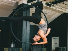 Aerial Hoop: Instagram's Favorite Extreme Workout - Racked
