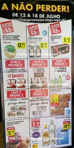 """Promoções Pingo Doce - Avistamento Folheto """" A não Perder """" 12 a 18 julho - http://parapoupar.com/promoes-pingo-doce-avistamento-folheto-a-no-perder-12-a-18-julho/"""