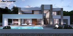 3+1 yada 4+1 seçenekli modern house plan izmir'de yaşamak isteyenler için.