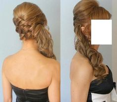 Wedding hairstyles ponytail veil pony tails 53 new Ideas Simply Hairstyles, Ponytail Hairstyles, Pretty Hairstyles, Hairdo Wedding, Wedding Hairstyles, Formal Hairstyles, Mademoiselle, Great Hair, Hair Dos