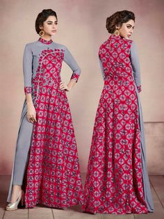 Best 12 To stand amongst the crowd, elevate your look with our adorable available only on at wholesale prices. Frock Fashion, Batik Fashion, Women's Fashion Dresses, Indian Designer Outfits, Designer Dresses, Muslim Fashion, Indian Fashion, Style Africain, Indian Gowns Dresses