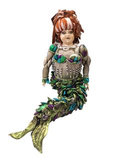 Katherine's Collection By Wayne M. Kleski Mardi Gras Maristella Mermaid Doll