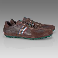 Paul Smith Brown Tago Driving Shoe
