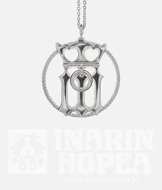 There is a Gothic letter M with a crown at the bottom of the jewel, representing the Virgin Mary, the Queen of Heaven. Queen Of Heaven, Virgin Mary, Silver Jewelry, Gothic, Letter, Pendants, Crown, Ceiling Lights, Jewels