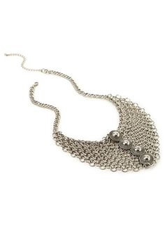 Chain Link Medallion Necklace | Forever 21 - 1000138652