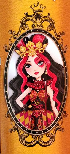 Monster High by Airi — Ever After High. Part 2 Ever After High, Lizzie Hearts, Queen Of Hearts, Drawing People, Drawing S, People Drawings, Laura Lee, Fairy Coloring, Kids Coloring