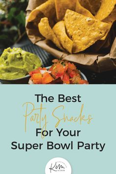 The Best Party Snacks For Your Super Bowl Party. Try these super party snacks for your Super Bowl Party. These are not only delicious but easy to prepare and enjoyed by everyone! // Kim Schob -- #party #football #recipe #snacks
