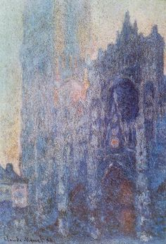 Claude Monet's Rouen Cathedral Series