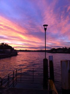 Sunset in Sydney, Macmahons Point.