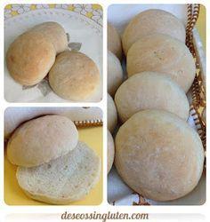 Deseos Sin Gluten: BOLLITOS DE PAN CON SEMILLAS DE LINO SIN GLUTEN