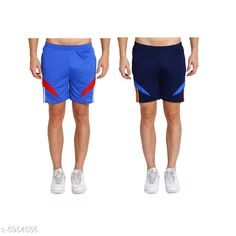 Checkout this latest Shorts Product Name: *Attractive Men's Short* Fabric: Polyester Pattern: Checked Multipack: 2 Sizes:  28 (Waist Size: 28 in, Length Size: 26 in)  30 (Waist Size: 30 in, Length Size: 26 in)  32 (Waist Size: 32 in, Length Size: 26 in)  34 (Waist Size: 34 in, Length Size: 26 in)  Country of Origin: India Easy Returns Available In Case Of Any Issue   Catalog Rating: ★4 (377)  Catalog Name: Attractive Men's Shorts CatalogID_900835 C69-SC1213 Code: 413-5954556-147