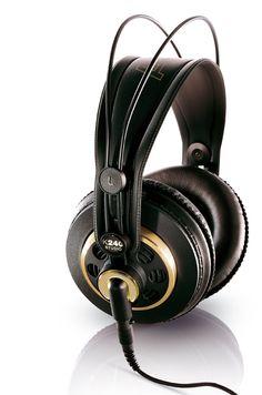 Amazon.com: AKG K 240 Semi-Open Studio Headphones: Musical Instruments