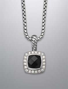 I will gladly accept this David Yurman necklace :) but would love this in purple!!!