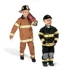 Kaylee & David were firefighter's last year for Halloween. They both want to be firefighter's again this year. Maybe Raegan will be my girlie girl???