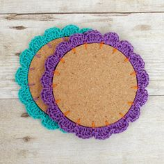 Flower Cork Coasters (9 of 9)