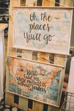Wood dowel map hanger kit - stained wooden dowel rods attach securely to your map and it's ready to display! We're happy to attach the kit for you if you purchase a map - it will come in a sturdy card
