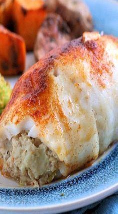 crab stuffed tilapia