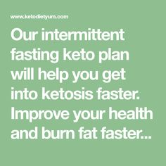 Our intermittent fasting keto plan will help you get into ketosis faster. Improve your health and burn fat faster than you ever imagined. Easy Keto Meal Plan, Ketogenic Diet Meal Plan, Diet Meal Plans, Low Carb Keto, Low Carb Recipes, Diet Recipes, Healthy Recipes, Get Into Ketosis Fast, Low Carb Tacos