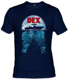Camiseta Dex - DEXTER - Olipop - Fanisetas.com