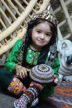 Cuteness at Its Peak, Turkmen Child