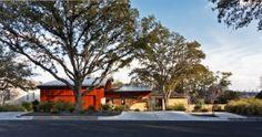 Dissolving Boundaries: Residence Encircled by Trees in Austin, Texas
