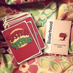 Apples to Apples: Pi Phi edition! - I Love Having Pi Phi Sisters!