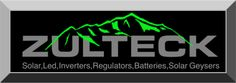 ZULTECK, YOUR #1 distributor for all your Solar, LED, Solar Geyser, Regulators and Battery needs.