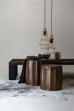 Bring a natural and warm element into your home with the new Weylandts Burnt Copper collection.