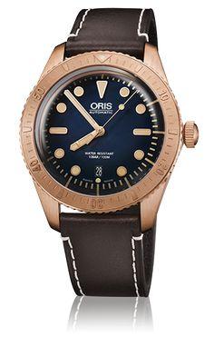Oris, ABD Donanması'nın ilk Afrika kökenli Amerikalı ve usta dalgıç olan Carl Brashear'ın olağan üstü hayatının anısına çıkarttığı ilk bronz saatini tanıtmaktan dolayı son derece gurur duyuyor.