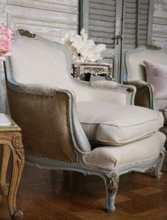 French chair by scentoforangeblossoms