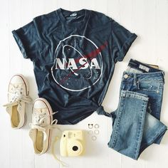 """blast-off. vintage #tbtees available online and in stores now. tap the link in our bio to see more designs."""