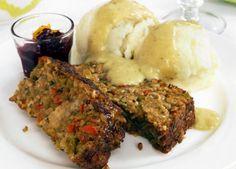 Vegan meatloaf