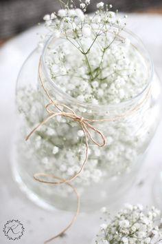 Gypsophila Wedding, Wedding Flowers, Wedding Table, Our Wedding, A Little Party, Diy Wedding Decorations, Decoration Table, Simple House, Flower Art