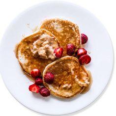 Ricotta Pancakes, Buttermilk Pancakes, Crepes, Brunch Recipes, Breakfast Recipes, Breakfast Time, Breakfast Dishes, Brunch Menu, Breakfast Ideas