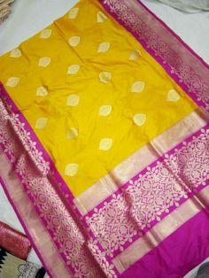 Banarasi silk. Whatsapp :91 7019277192