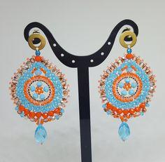 Crochet Earrings, Jewelry, Fashion, Earrings, Moda, Jewels, Fashion Styles, Schmuck, Jewerly