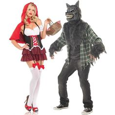 Little Red Riding Hood And The Wolf.. Love this one!!
