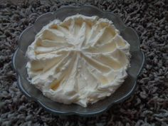 Bílkový máslový krém - swiss meringue