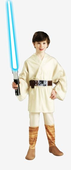 Star Wars Kids Luke Skywalker Costume #HalloweenCostumes2016