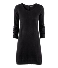 Black Sweater Dress - Product Detail | H US