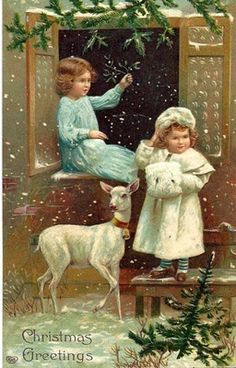 Old Christmas Cards ~ ♥