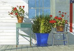 "Gary Akers | ""Apple House Porch Study"""