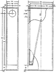 12 inch speaker box dimensions woodworking project ideas ben subwoofer box design. Black Bedroom Furniture Sets. Home Design Ideas