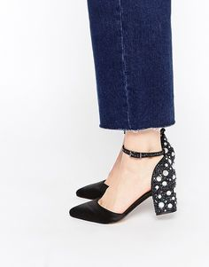 ASOS SHOOTING STAR Heels - Black