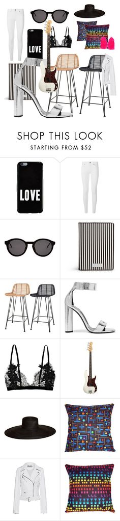 """#blackandwhite #colourpop #rockchick #chic"" by cielshopinteriors ❤ liked on Polyvore featuring Givenchy, Burberry, Thierry Lasry, Henri Bendel, Ciel, Tom Ford, American Standard, Samuji, Calvin Klein Jeans and Humble Chic"
