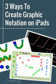 3 Ways to Create Graphic Music Notation on iPads | Midnight Music