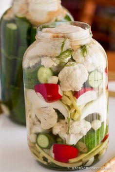 Kefir, Fresh Rolls, Pickles, Cucumber, Healthy Eating, Cooking Recipes, Vegetarian, Canning, Vegetables