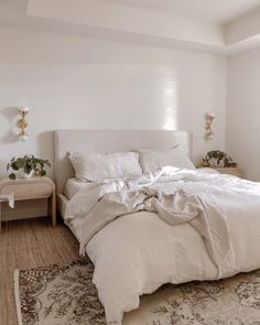 Pink Master Bedroom, Bedroom Decor For Small Rooms, Guest Bedroom Decor, Bedroom Decor For Couples, Modern Bedroom Decor, Room Ideas Bedroom, Transitional Bedroom Decor, Cozy White Bedroom, Casual Bedroom
